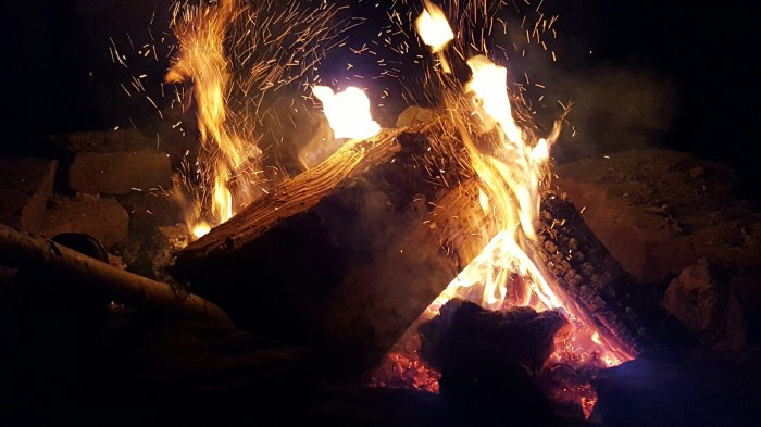 Sparks start fires